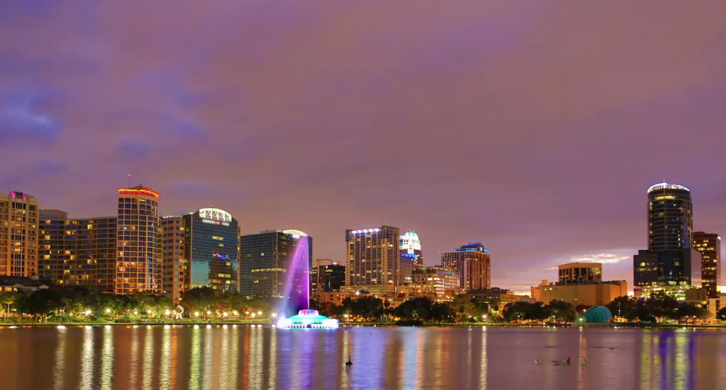 Photo of Orlando, Florida from Ignite conference