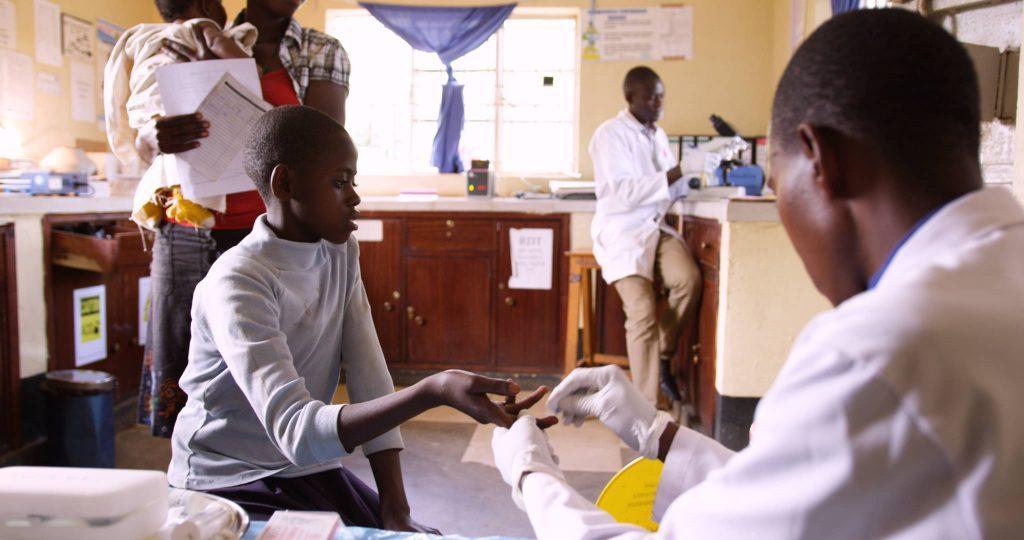 Photo of people at nonprofit in Uganda