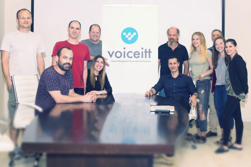 Members of the Voiceitt team