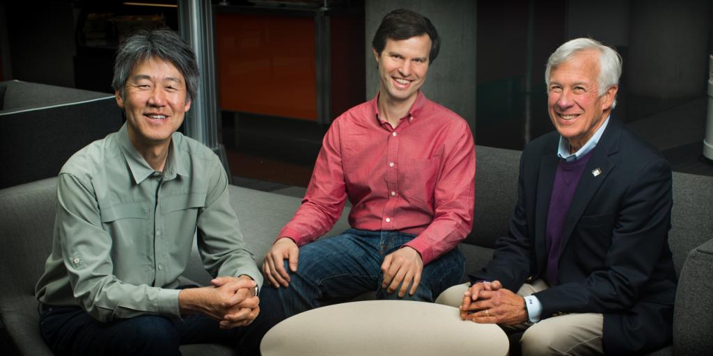 Peter Lee, Joshua Mandel and Jim Weinstein