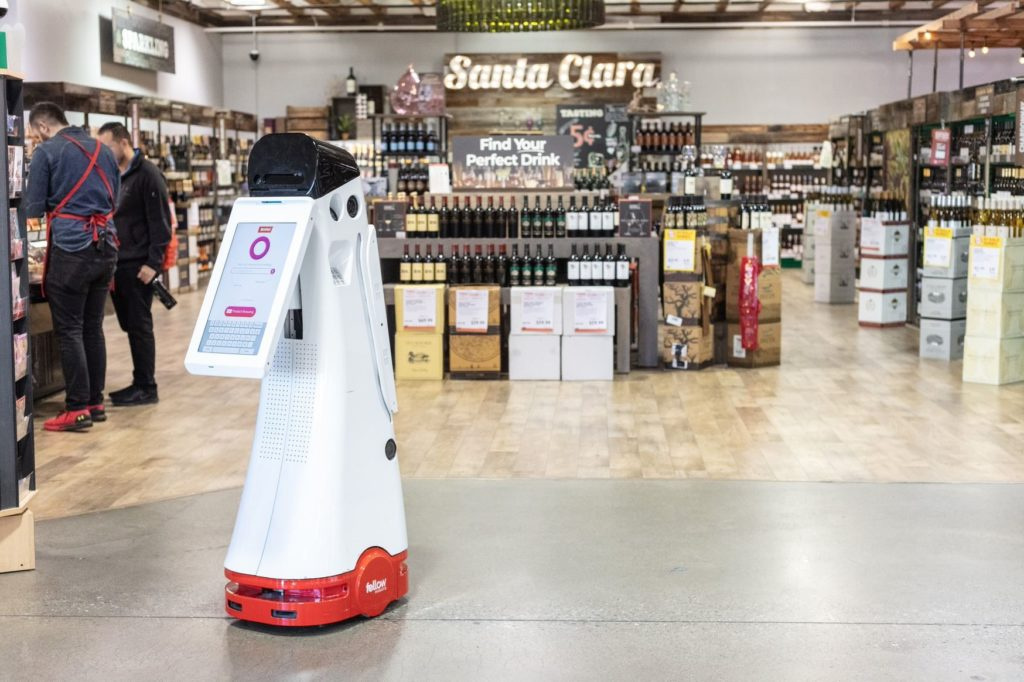 Fellow Robots product in a retail store