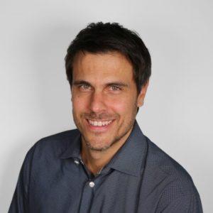 Headshot of grantee winner Josh Landis.