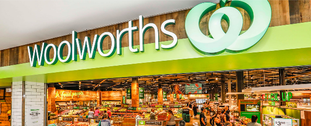 Front of a Woolworths store