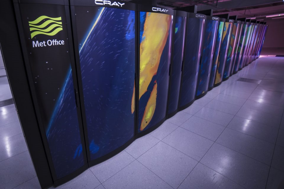 Met Office supercomputer system